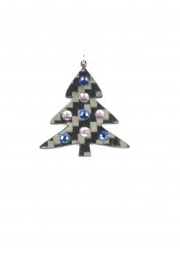 White n' Blue Xmas Tree